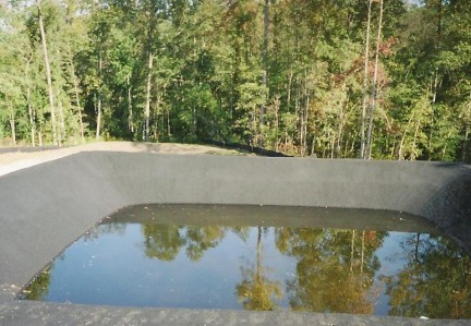 Stormwater ponds meeting dam safety regulations in va md for Small pond dam design